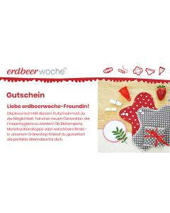 erdbeerwoche Gutschein - E-Mail Versand